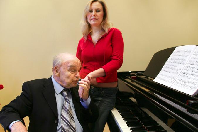 Композитор Владимир Шаинский отмечает 80-летний юбилей