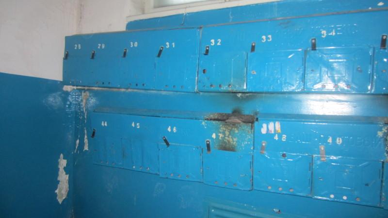 Почтовые ящики на Муханова 44