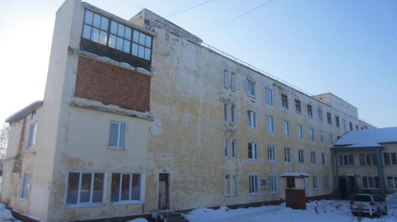 В газет 2 На фото - вот так сегодня выглядит здание ГБ-1